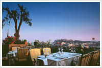 Hotels Athens, Terrace